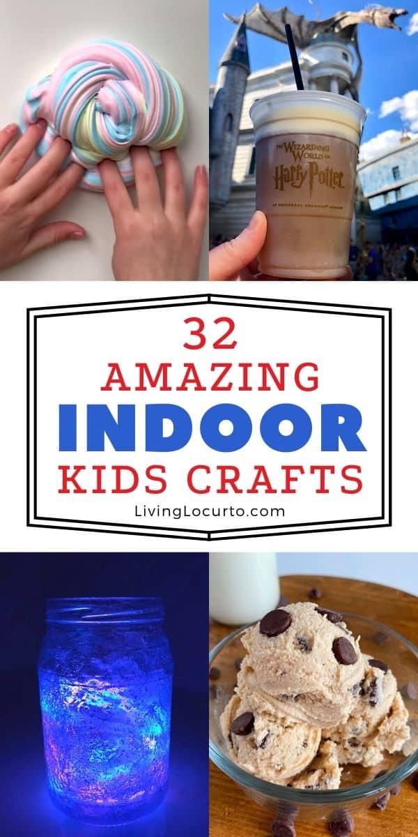 32 Amazing Indoor Crafts For Kids