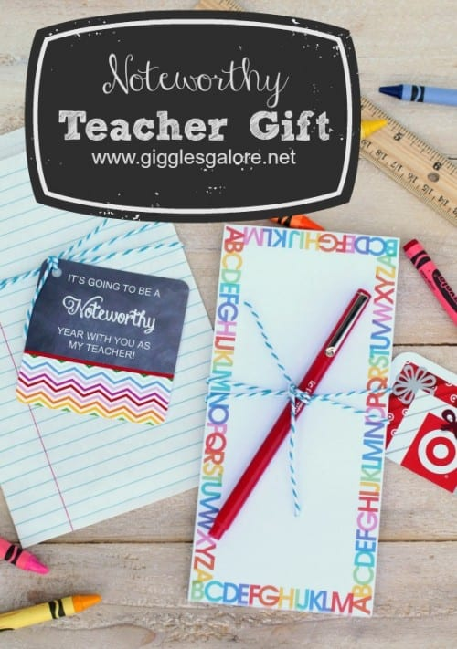 Back to School Free Printable Teacher Gift Tags