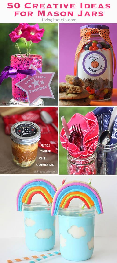 50 DIY Mason Jar Craft Ideas