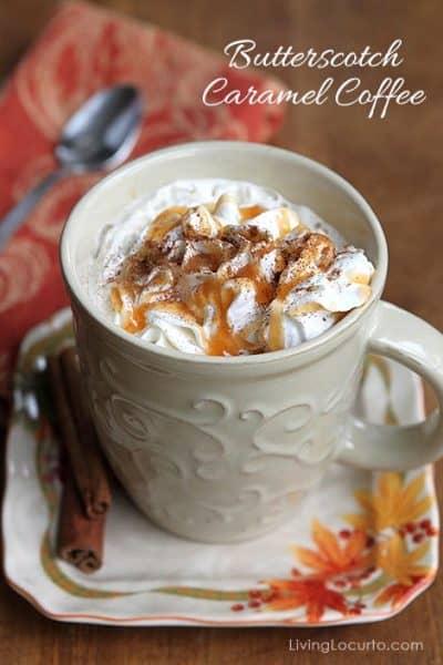 Butterscotch Caramel Coffee Recipe