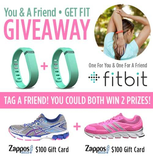 Fitbit Flex Wristband And Zappos Gift Card Giveaway