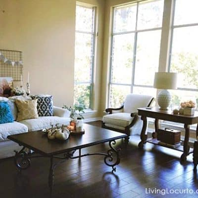 Before & After: Weekend Living Room Makeover