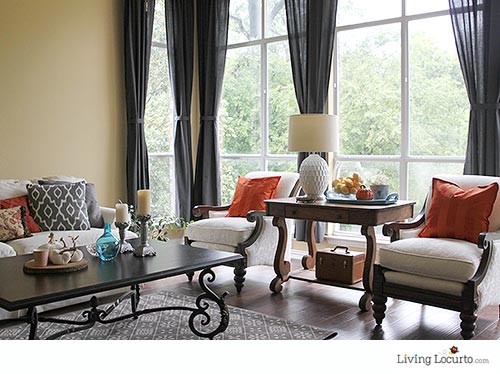 How to Add Color to Your Home! LivingLocurto.com
