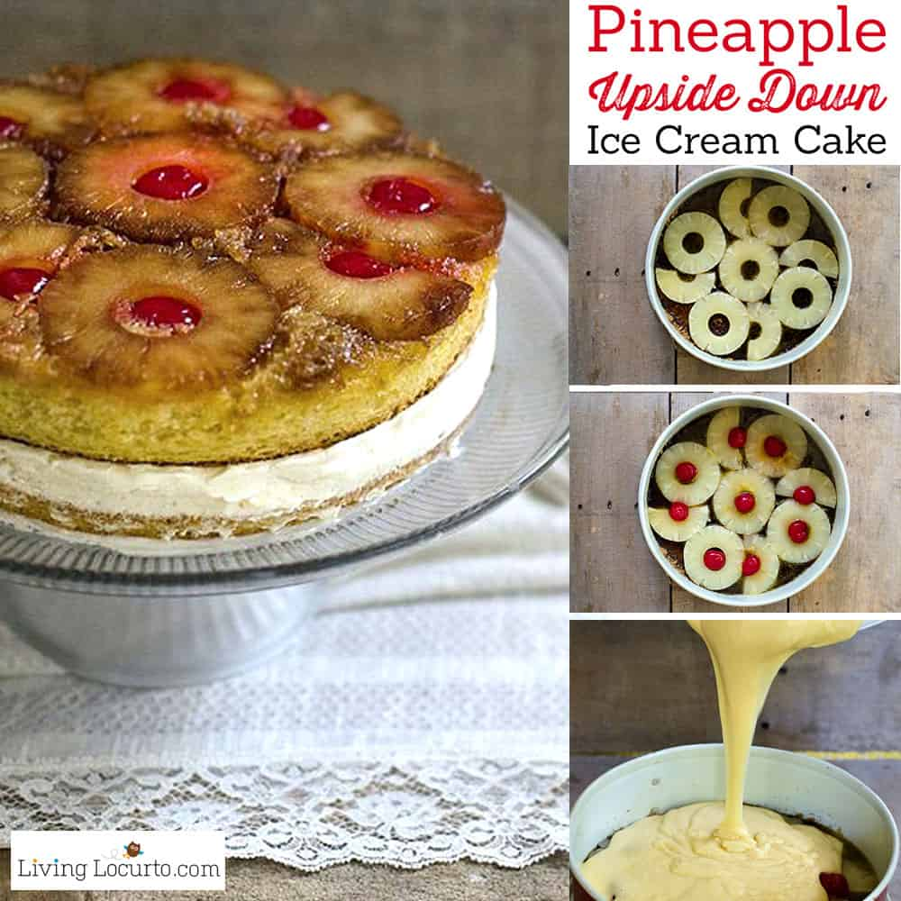 Pineapple Upside Down Ice Cream Cake Recipe at LivingLocurto.com