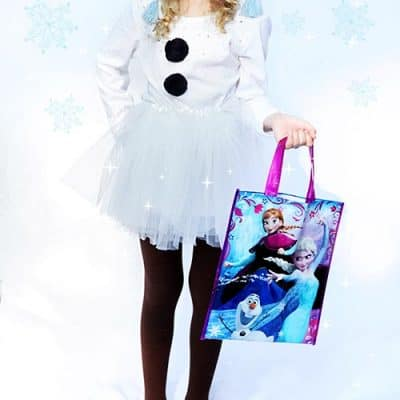 DIY Disney Frozen Olaf Costume