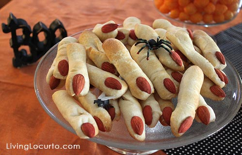15 halloween party appetizer recipes halloween lady fingers - Halloween Savory Recipes