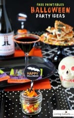 Halloween Party Ideas with Free Printables