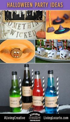 Halloween Party Ideas #LivingCreative