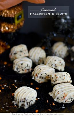 Homemade Halloween Biscuits Breakfast Recipe