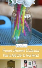 How to make paper flowers. Add color to your home!