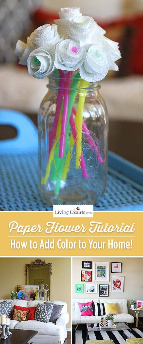 how to add onto your house paper flower craft how to add color to your home