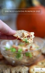 Smoked Gouda Pumpkin Dip Recipe
