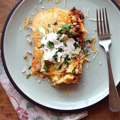 Tamale Pie Mexican Casserole