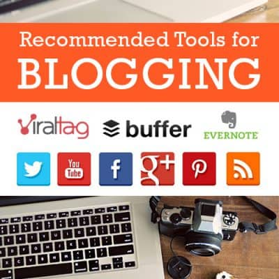 Favorite Tools for Blogging