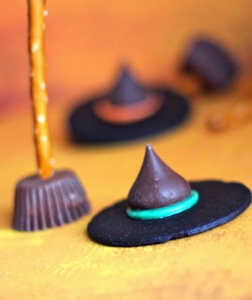 Halloween Wicked Witch Hat and Broomstick treats!