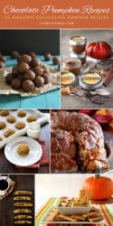 35 Amazing Chocolate Pumpkin Recipes
