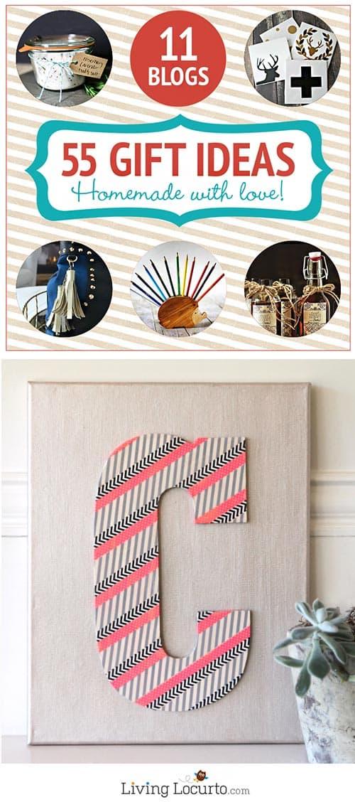 55 Homemade Holiday Gift Ideas! Livinglocurto.com