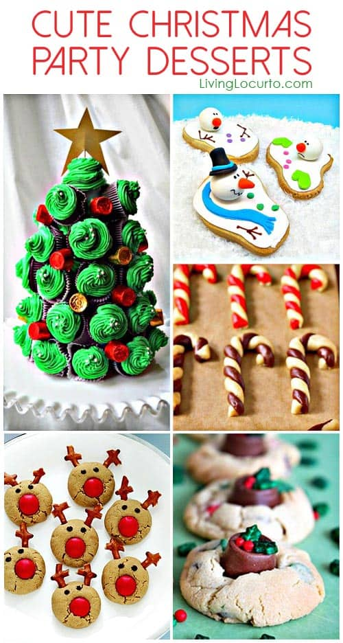 Delightful Christmas Dessert Party Ideas Part - 7: Living Locurto