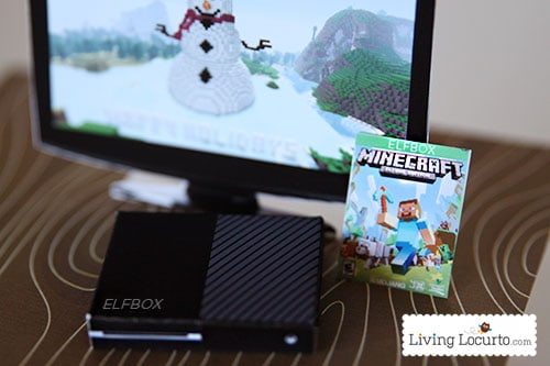 Printables with Minecraft and Fortnite elf sized games will give kids a fun surprise! Elf Video Game Printables are the perfect for your Elf on the Shelf!