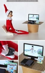 Elf on the Shelf xBox MineCraft Game Printable