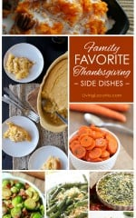 Family Favorite Thanksgiving Side Dish Recipes. LivingLocurto.com