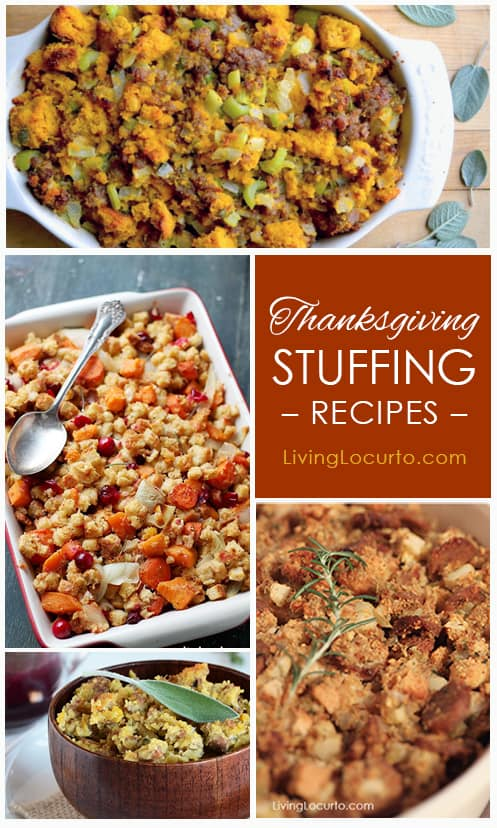 Thanksgiving Stuffing and Dressing Recipes