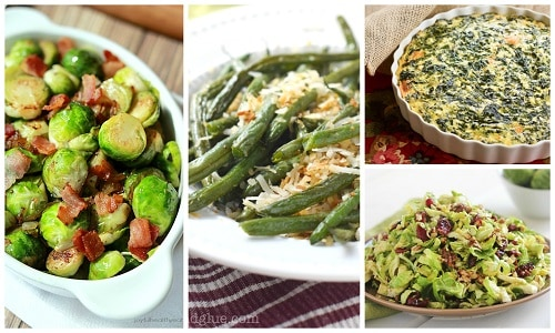 Green Vegetable Thanksgiving Side DIsh Recipes.