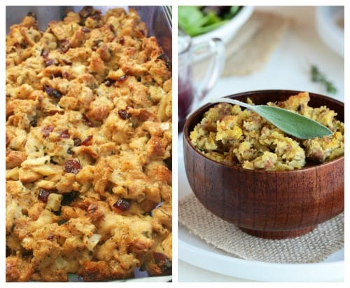 Thanksgiving stuffing recipes