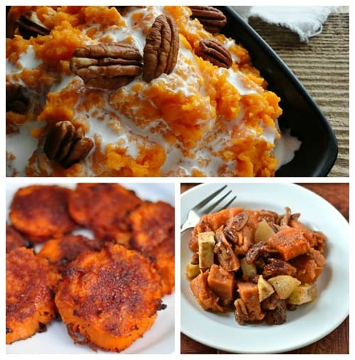 Thanksgiving Side Dish Recipes. Sweet potatoes are yummy just about anyway you cook them up! LivingLocurto.com
