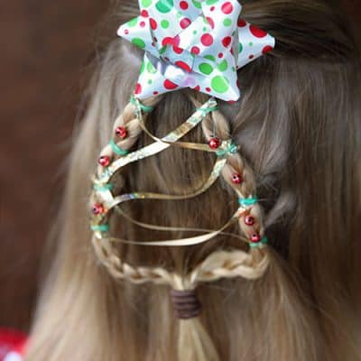 Christmas Tree Braid – Cute Girls Hairstyle