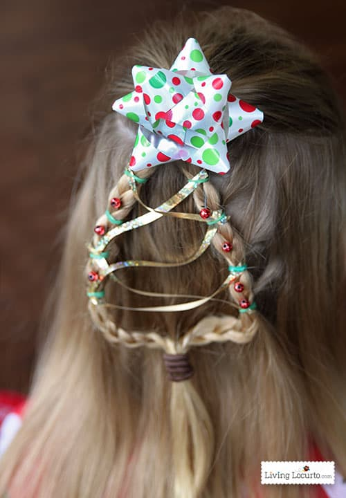 Christmas Hairstyles Easy.Christmas Tree Braid Cute Girls Hairstyle Living Locurto