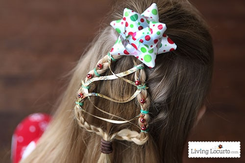 Christmas Tree Braid Cute Girls Hairstyle Living Locurto