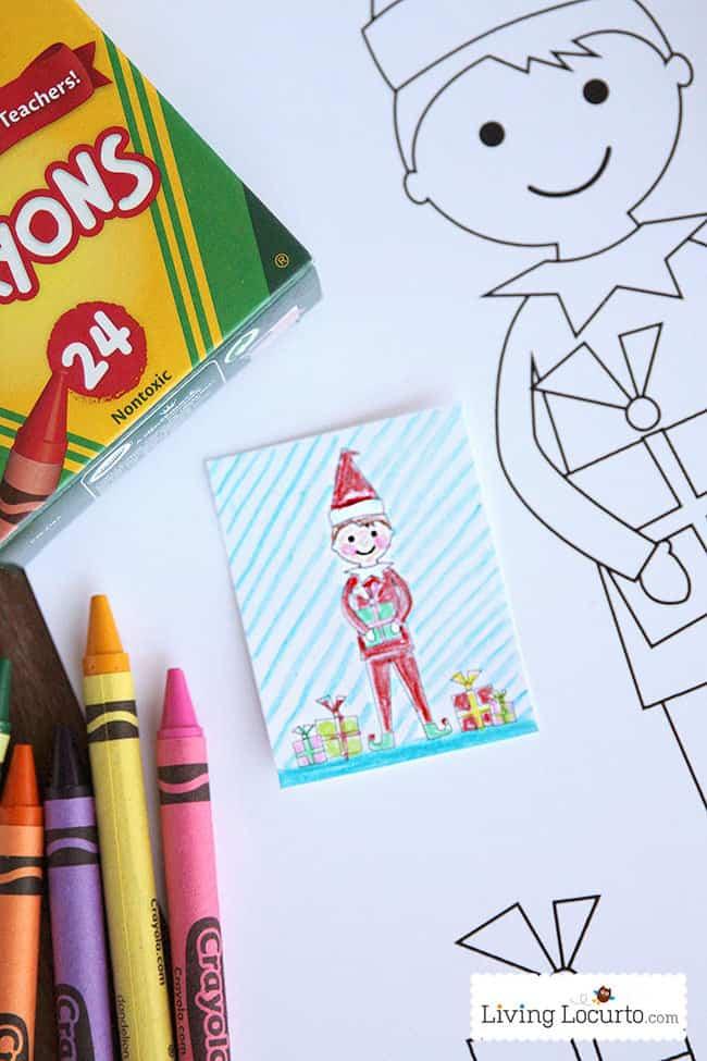 Elf Free Printable Coloring Sheets Cute Elf Ideas