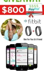 Holiday Cash and FitBit Flex Wristband Giveaway!