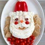 Easy Santa Cheese Ball Recipe