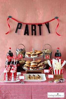 Best Party Printables - Football Party Ideas Living Locurto