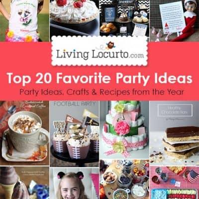 Top 20 DIY Party Ideas