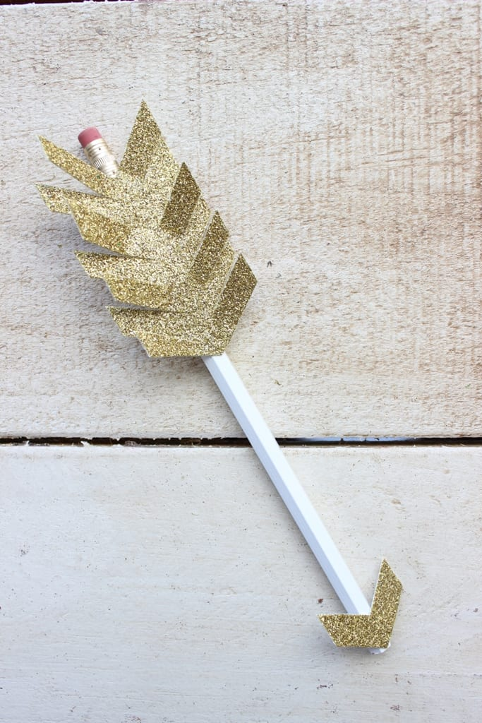Valentine S Day Arrow Pencil Diy Gift Idea