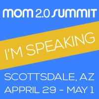 I'm Speaking at Mom 2.0 Summit