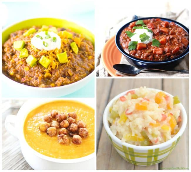 60 Delicious Crock Pot Recipes! Best slow cooker sides and vegetable recipes for dinner. LivingLocurto.com