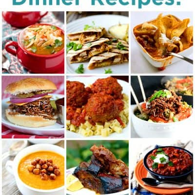 60 Delicious Slow Cooker Recipes