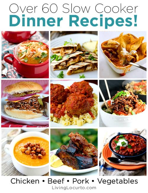 60 delicious slow cooker recipes crock pot dinner ideas
