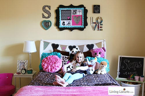 Children S Party Box Wall Art For Girl S Bedroom: Girls Bedroom Wall Art Ideas