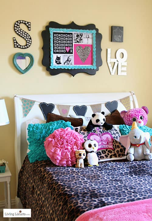girls bedroom wall art ideas decorating ideas and cute diy inspiration for personalized art - How To Decorate Bedroom Walls
