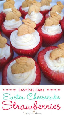 Easter-Bunny-Cheesecake-Strawberries
