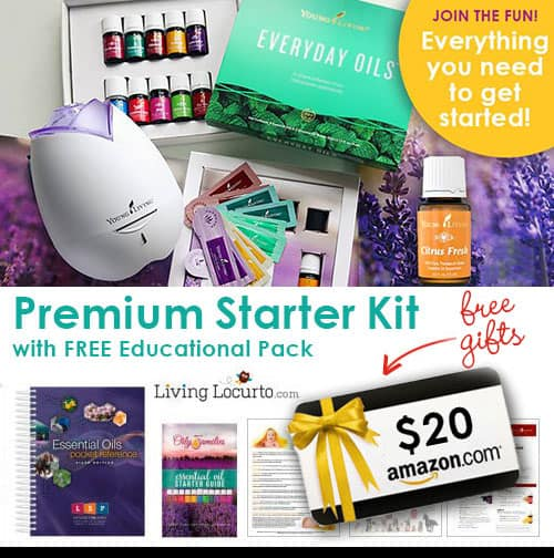 Join the fun! Essential Oils Starter Kit with Living Locurto