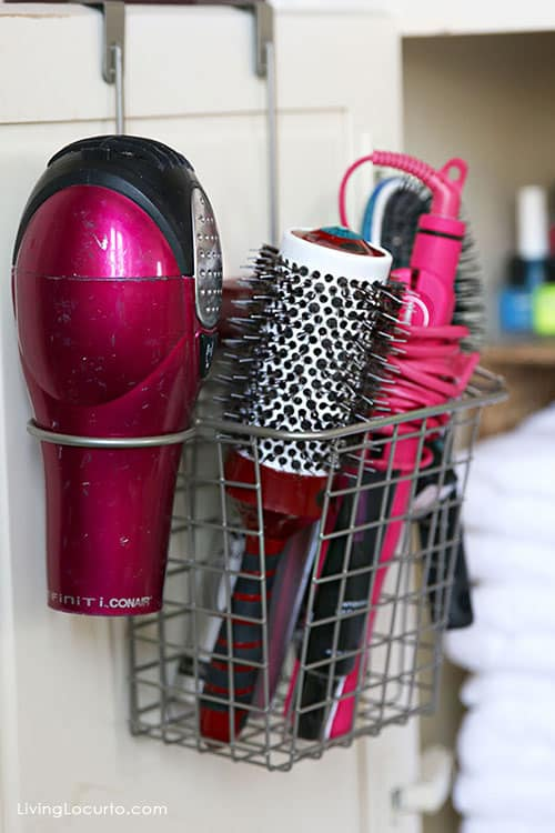 Bathroom Organizing Ideas quick bathroom organization ideas | before and after photos