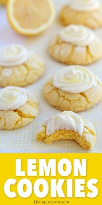 Easy Lemon Cookies Recipe