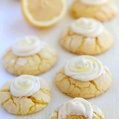 Easy Lemon Cookies and Lemon Frosting Recipe