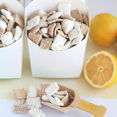 Lemon Meringue Pie Chex Party Mix
